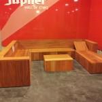 foto9: verdedigen van onze lounge set voor de jury op bouwinnovatie